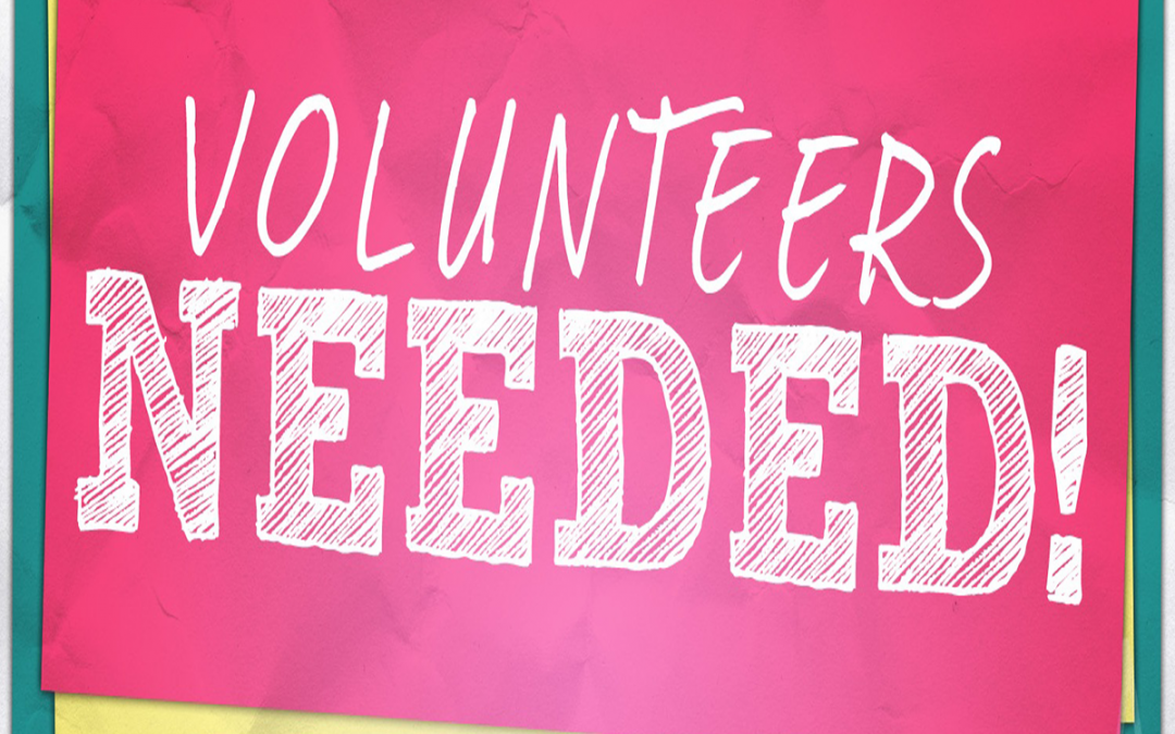Volunteer Wanted